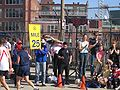Boston marathon mile 25 marker 050418.jpg
