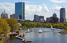 Boston's Back Bay neighborhood