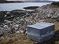 Box like object on Rubha Thùrnaig - geograph.org.uk - 1164375.jpg