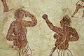 Boxers, Mural painting, ca 100 BC, Delos, 143457.jpg