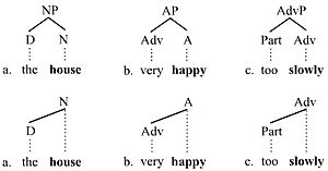 Branching (linguistics) - Branching picture 1