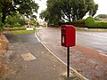 Branksome, postbox No. BH13 169, Westminster Road - geograph.org.uk - 1427516.jpg