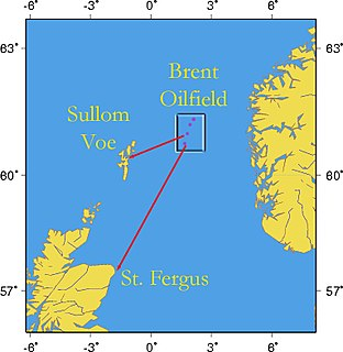 Brent oilfield oil and natural gas field in the East Shetland Basin of the North Sea