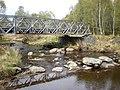 Bridge and Stepping stones across Loch nan Lann Outlet - geograph.org.uk - 1286130.jpg