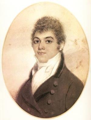 George Bridgetower - George Bridgetower, unsigned watercolor, 1800.