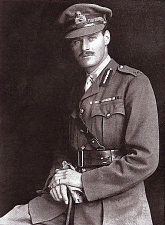 Sir Smith Child, 2nd Baronet - Hill Child in 1918