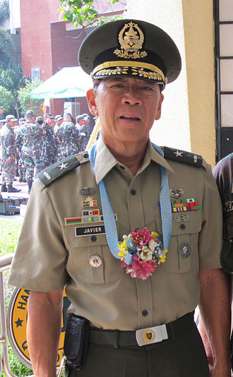 15th Infantry Division (Philippines) - Brigadier General Marcelo B Javier Jr (RES) AFP; the commanding general of the 15th Infantry Division (Ready Reserve).