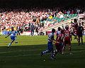 Bristol Rovers vs Doncaster Rovers - Lambert strikes.jpg