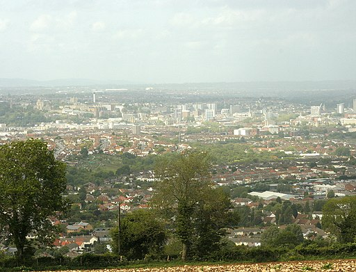 Bristol from East Dundry Lane - geograph.org.uk - 1346334