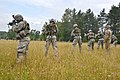 British Army Royal Military Academy Sandhurst trains on 7th Army Joint Multinational Training Command's Grafenwoehr Training Area, Germany 140708-A-HE359-027.jpg