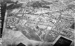 Sarafand al-Amar - British Army camp at Sarafand. 1947