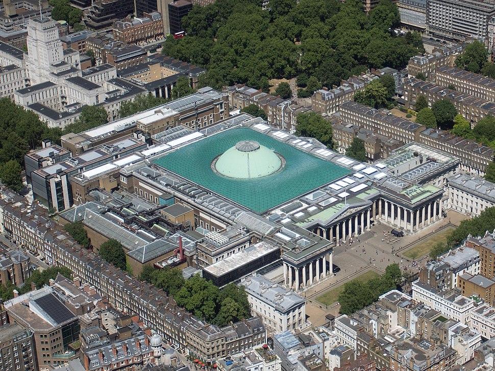 British Museum (aerial)