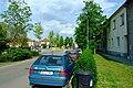 Brno-Horní Heršpice - východní část Bohunické ulice poblíž křižovatky s Pražákovou ulicí.jpg
