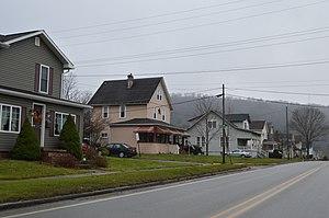 South Bethlehem, Pennsylvania - Houses along Broad Street
