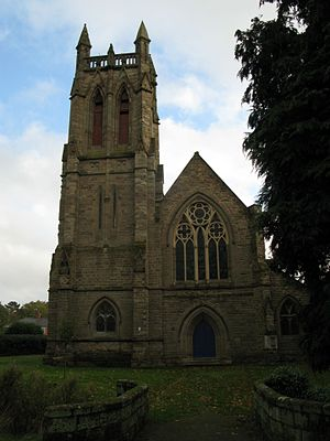 Bromsgrove - The church of All Saints