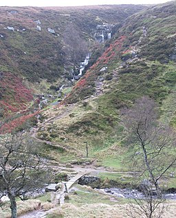 Bronte bridge and waterfalls - geograph.org.uk - 630928