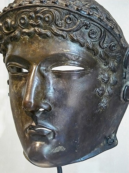 File:Bronze Cavalry Sports Mask Roman 2nd century CE.jpg