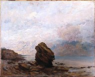 Brooklyn Museum - Isolated Rock (Le Rocher isolé) - Gustave Courbet.jpg