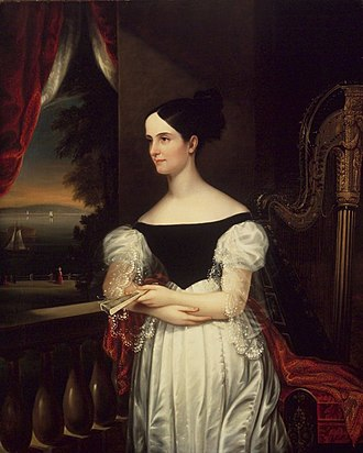 Edgewater (Barrytown, New York) - Susan Gaston Donaldson (portrayed by George Cooke) lived at Edgewater from 1853 until her death in 1866.