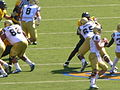Bruins on offense at UCLA at Cal 2010-10-09 4.JPG