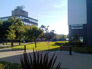Brunel University London - A view of the Brunel University campus in Uxbridge