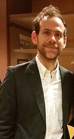 Bryce Dessner at the Cincinnati Music Hall in 2015