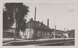 Bryn Station - The 1902 station building