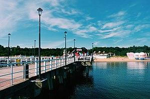 Brzeźno - Image: Brzezno Pier in Gdansk 2