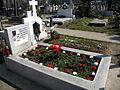 Bucuresti, Romania, Cimitirul Bellu Catolic, Mormantul compozitorului Dan Iagnov (11 martie 2014) (2).JPG