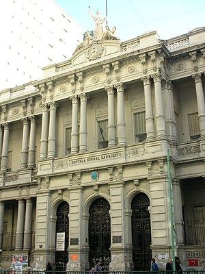 Education in Argentina - Sarmiento Teachers' College: President Domingo Sarmiento established the first of these Escuelas Normales