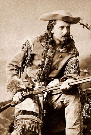 "Buffalo Bill - ""Buffalo Bill,"" nicknamed after his contract to supply Kansas Pacific Railroad workers with buffalo meat"