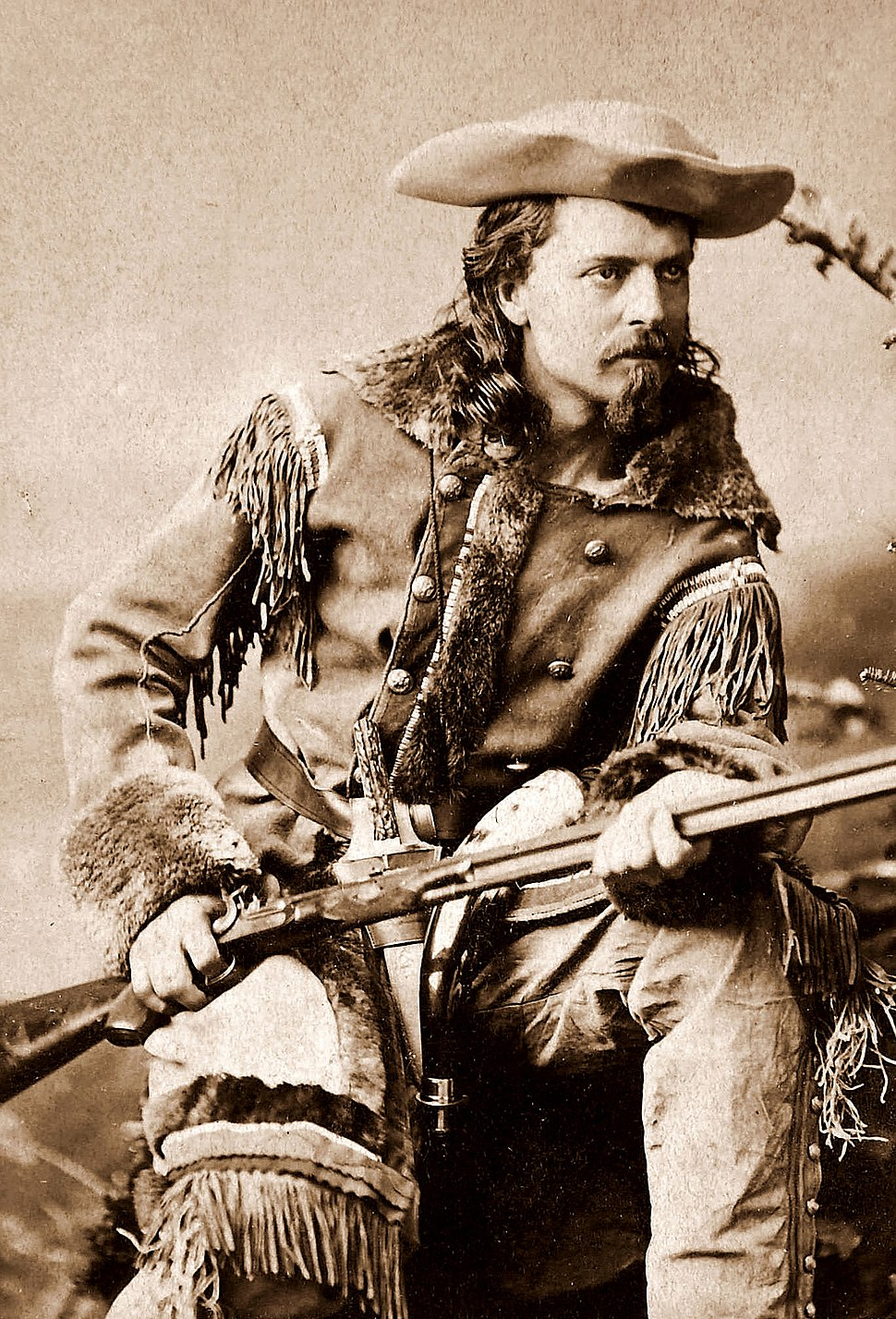 Buffalo Bill Cody by Sarony, c1880