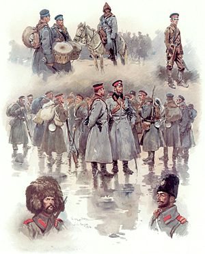 Georges Scott - Image: Bulgarian soldiers of the Balkan Wars