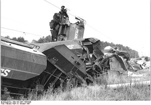 Bad Kleinen–Rostock railway - Train crash between Bützow and Schwaan in 1987