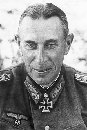 Kozelsk Offensive - Rudolf Schmidt, commander of the 2nd Panzer Army, in 1942