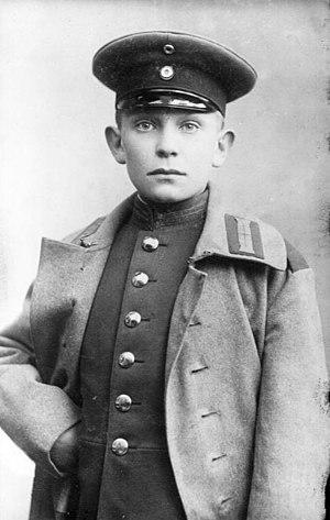 Hermann Göring - Göring in 1907, at age 14