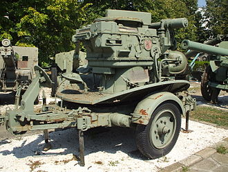 Vickers Model 1931 - Bungescu M1938 Fire-control system, used for the Romanian-made guns