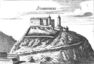 Georg Matthäus Vischer - Image: Burg Starhemberg Vischer