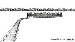 Slawische Burg Plune