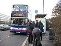Bus stop on Romsey Road - geograph.org.uk - 1714408.jpg