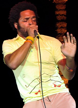 Busdriver - Busdriver performing at Coachella in 2007.