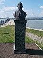 Bust of Ferenc Springer by Béla Domonkos, Agárd, 2017 Gárdony.jpg