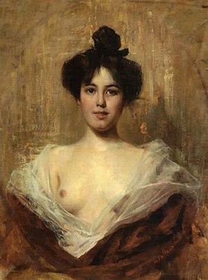 Cesare Tallone - Image: Busto di giovane donna