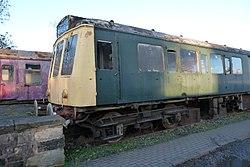 Butterley railway station, Derbyshire, England -train-19Jan2014 (3).jpg