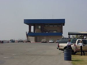 Buttonwillow Raceway Park - Image: Buttonwillow controltower