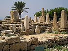 Obelisk temple in Byblos