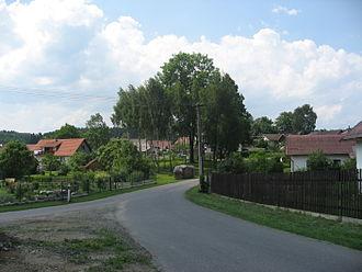 Bystrá (Pelhřimov District) - Image: Bystrá