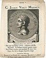 C. Julius Verus Maximus Erfgoedcentrum Rozet 300 191 d 6 a-d.jpg