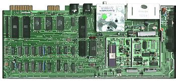 An early C64 motherboard. (Rev A PAL 1982)