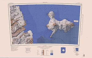 DAILEY ISLANDS in the southern area of ​​the map sheet